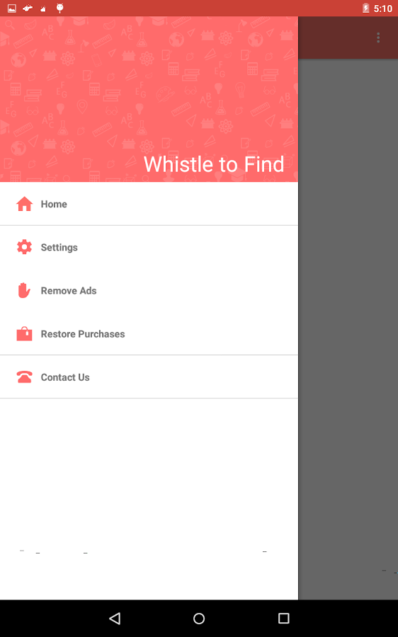 Whistle to Find- screenshot