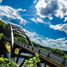bridge landscape water by Fran Kat - Landscapes Waterscapes ( waterscape, bridge, landscape,  )