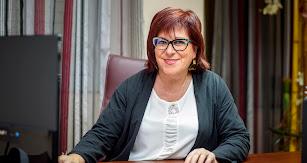 María del Mar García, presidenta del Colegio de Enfermería.
