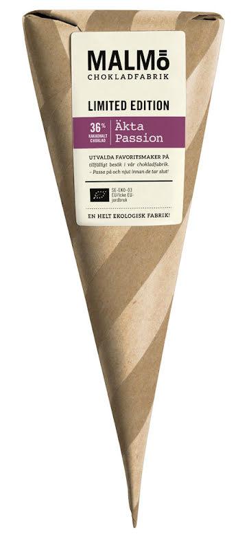 Strut - äkta Passion, vit choklad 36 % - Malmö Chokladfabrik
