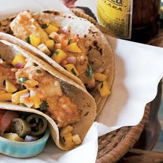 Baja-Style Tempura Fish Tacos.