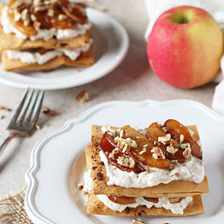 Apple Cinnamon Phyllo Pastries.