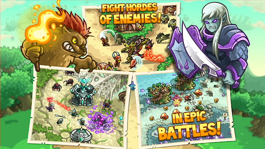 Kingdom Rush Origins MOD APk (Unlimited Gems/Unlocked Heros) 4