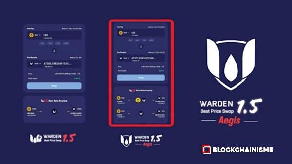Kehebatan WardenSwap V1.5 Aegis, Pembaruan Yang Diluncurkan WardenSwap, Perbandingan WardenSwap v1.5 dengan WardenSwap Aegis