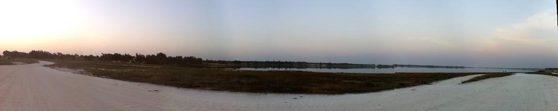 Photo: Lac Rose sunset, Senegal