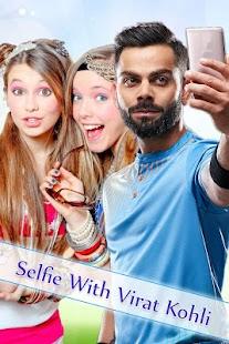 Selfie with Virat Kohali - náhled