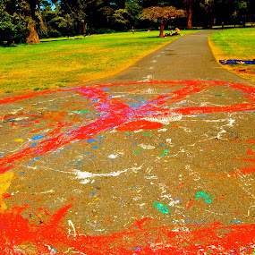 Peace by Abi Gilson - Novices Only Street & Candid ( golden gate park, hippies, park, hippy, peace, art, haight ashbury, paint, boho, san francisco )