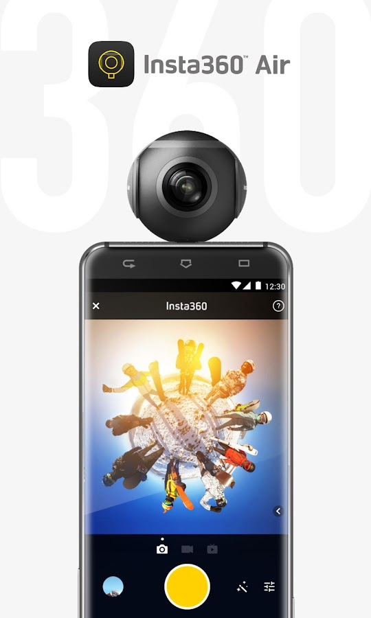 Insta360 Air - Simple, snappy 360 photos & video- screenshot