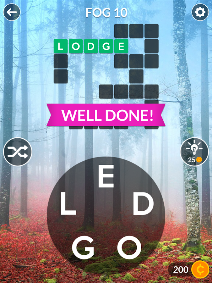Wordscapes- screenshot