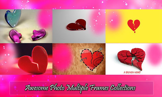 Broken Heart Photo Frames App Report on Mobile Action - App Store ...