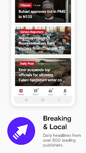 Opera News: Breaking, Local Screenshot