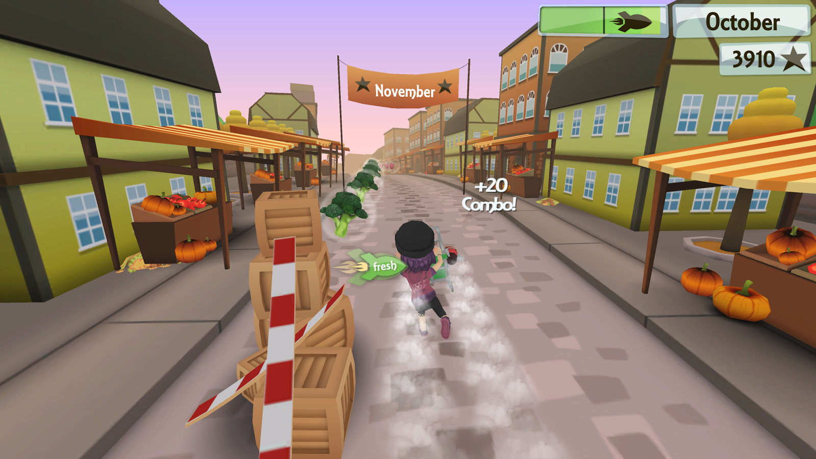 Fresh Food Runner- screenshot
