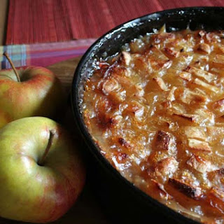 German Riesling Apple Cake.