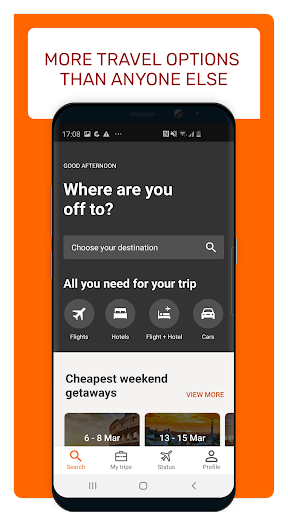Opodo: Book cheap flights and travel deals Apk 2