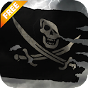 3D Pirate Flag Live Wallpaper