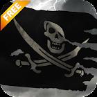 3D Pirate Flag Live Wallpaper icon