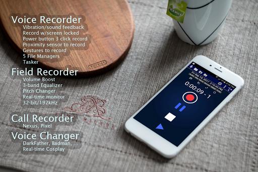 Hi-Res Audio Recorder  screenshots 8