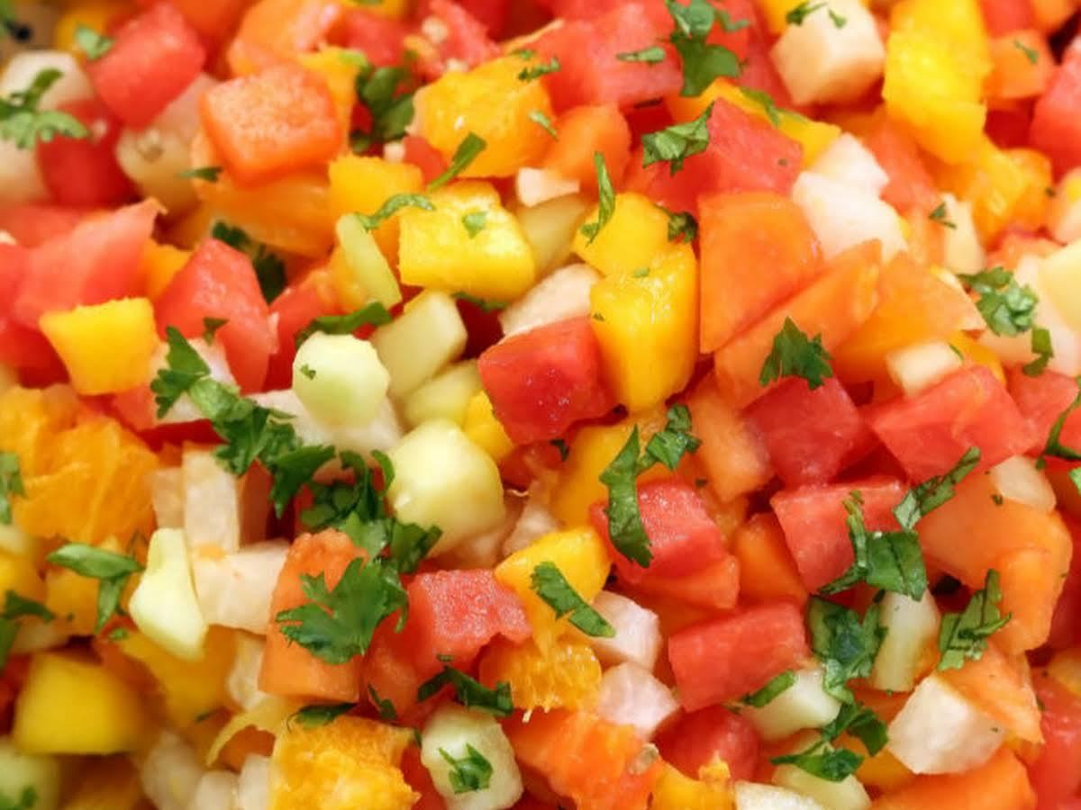 Mexican Gazpacho Fruit Salad