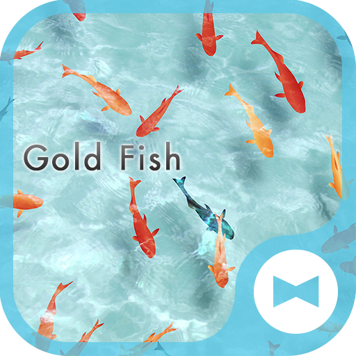 Stylish Wallpaper Gold Fish Theme Icon
