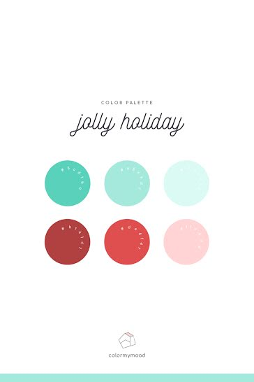 Jolly Holiday Palette - Christmas Template