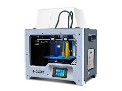 FlashForge Creator MAX 2 Independent Dual Extrusion 3D Printer - Sky Gray
