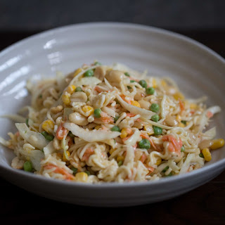Asian Salad With Ramen Noodles And Sunflower Seeds Recipes