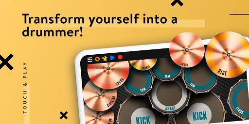 REAL DRUM: Electronic Drum Set screenshot 1