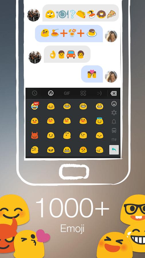TouchPal Keyboard - Cute Emoji screenshot #2