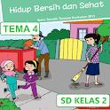 BSE SD kelas 2 tema 4 icon