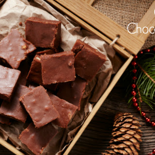 Coconut Oil Chocolate Fudge Recipe