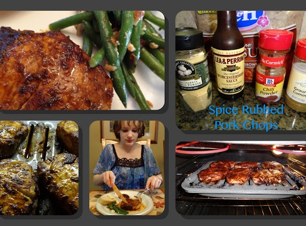 Spice Rubbed Pork Chops Recipe
