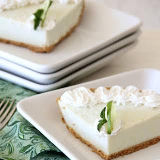 Lime Mint Frozen Dessert.