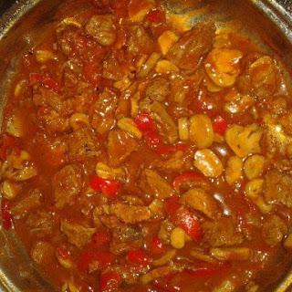 Ingredients German Goulash.