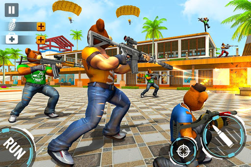 Teddy Bear Gun Strike Game: Counter Shooting Games apkmr screenshots 3