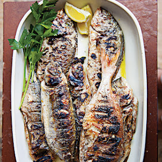Whole Grilled Fish with Lemon (Riba na Rostilju)