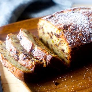 Cannoli Pound Cake.