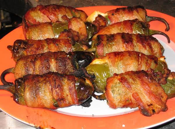 Bacon Wrapped Poppers Recipe