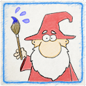 Magic Painter drawing for kids icon