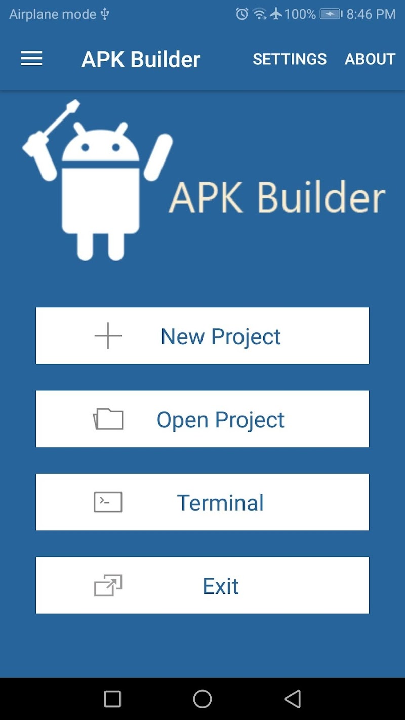 APK Builder Screenshot 0