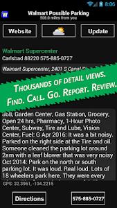 Walmart Overnight Parking v4.2.1