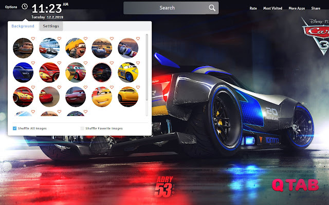 Cars 3 Wallpapers Theme Cars 3 Movie New Tab