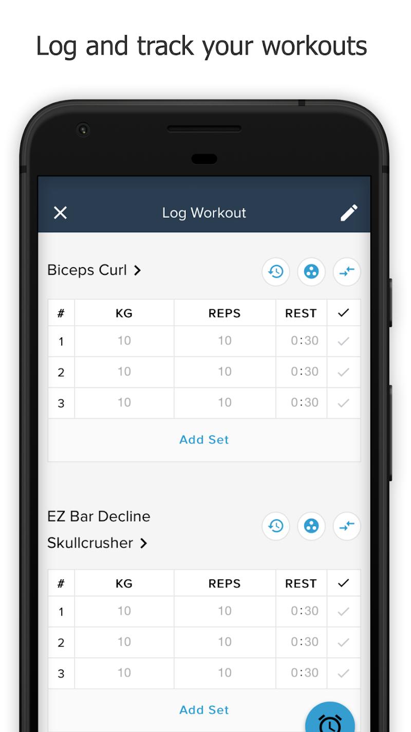Скриншот Justine Faubert Fitness