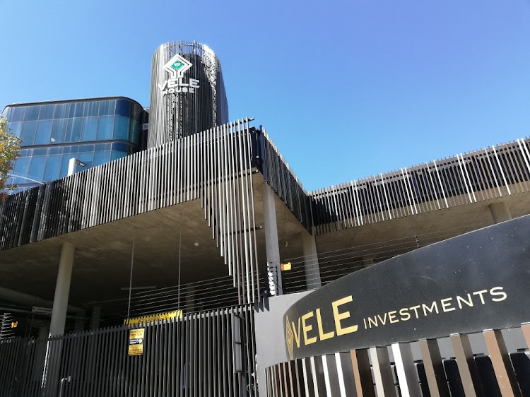 The offices of Vele Investments, majority shareholder of VBS Bank on Grayston Drive, Sandton. Reserve Bank on Monday conducted a mid-morning search and seizure operation as part of its ongoing probe into the bank which was placed under curatorship in March.
