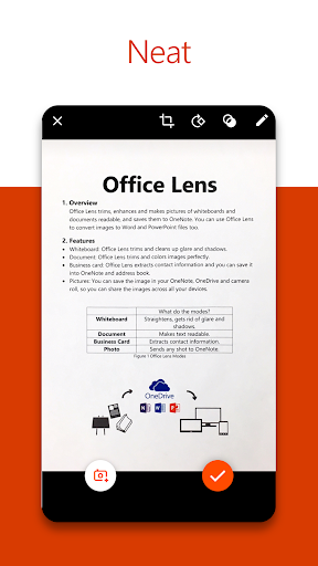Office Lens screenshot 2
