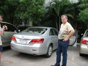 Photo: půjčené auto Toyota