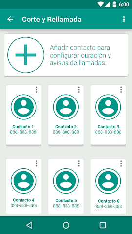android CorteRellamada Screenshot 1