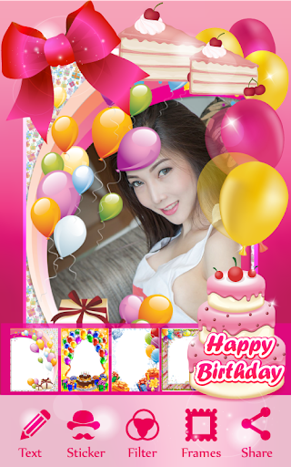 Birthday Cake Photo Editor For Android