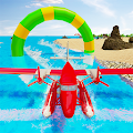 Water Surfing Plane Stunts APK