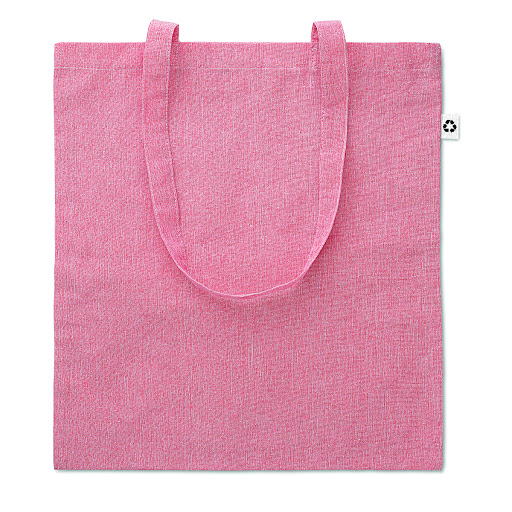 Recycled Cotton Tote Bag Pink