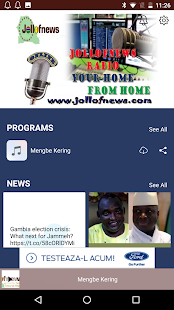 Jollofnews Radio Gambia- screenshot thumbnail